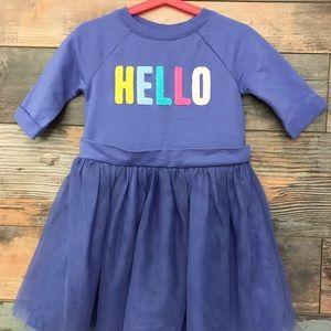 2 in 1 Sweatshirt Tutu Dress for toddler